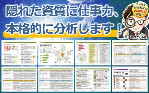 自己分析診断テスト「ポテクト」で強み・弱みを徹底分析! 無料版あり